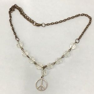 Jewelry - Peace Sign Necklace